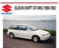 Thumbnail SUZUKI SWIFT GTi MK2 1989-1992 SERVICE REPAIR MANUAL