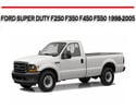 Thumbnail FORD SUPER DUTY F250 F350 F450 F550 1998-2005 REPAIR MANUAL