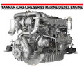 Thumbnail YANMAR 4JH3 4JHE SERIES MARINE DIESEL ENGINE MANUAL