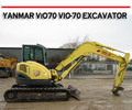 Thumbnail YANMAR ViO75 VIO-75 EXCAVATOR FULL FACTORY REPAIR MANUAL
