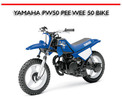 Thumbnail YAMAHA PW50 PEE WEE 50 BIKE REPAIR & PARTS MANUAL
