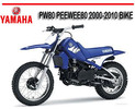 Thumbnail YAMAHA PW80 PEEWEE80 2000-2010 BIKE FACTORY REPAIR MANUAL