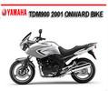 Thumbnail YAMAHA TDM900 TDM-900 2001 ONWARD BIKE REPAIR MANUAL
