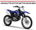 Thumbnail YAMAHA TTR125 TT-R125E TT-R125LWE BIKE REPAIR MANUAL