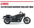 Thumbnail YAMAHA XV1700 ROAD WARRIOR 2000-2007 BIKE REPAIR MANUAL