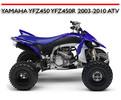 Thumbnail YAMAHA YFZ450 YFZ450R 2003-2010 ATV WORKSHOP REPAIR MANUAL