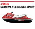 Thumbnail YAMAHA JETSKI WAVERUNNER VX110 VX 110 DELUXE SPORT MANUAL