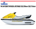 Thumbnail YAMAHA WAVERUNNER JETSKI XLT800 XLT 800 BOAT WORKSHOP MANUAL