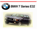 Thumbnail BMW 7 Series E32 1988-1994 SERVICE REPAIR MANUAL