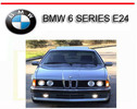 Thumbnail BMW 6 SERIES E24 633 635 M6 1983-1989 REPAIR SERVICE MANUAL