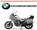 Thumbnail BMW K1 K75 K100RS K100LT R80GS R100R BIKE REPAIR MANUAL
