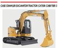 Thumbnail CASE CRAWLER EXCAVATOR TRACTOR CX75SR CX80 TIER 3 MANUAL