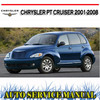 Thumbnail CHRYSLER PT CRUISER 2001-2008 WORKSHOP REPAIR MANUAL