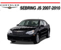 Thumbnail CHRYSLER SEBRING JS 2007-2010 WORKSHOP SERVICE REPAIR MANUAL