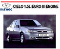 Thumbnail DAEWOO CIELO 1.5L EURO III ENGINE WORKSHOP REPAIR MANUAL