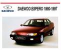 Thumbnail DAEWOO ESPERO 1990-1997 WORKSHOP REPAIR MANUAL