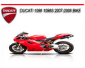 Thumbnail DUCATI 1098 1098S 2007-2008 BIKE REPAIR SERVICE MANUAL