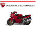 Thumbnail DUCATI ST 2 ST2 1997-2003 BIKE REPAIR SERVICE MANUAL