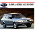 Thumbnail SUBARU L-SERIES 1600 1800 EA81 1980-1989 REPAIR MANUAL