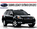 Thumbnail SUBARU LEGACY OUTBACK 2010-2012 REPAIR SERVICE MANUAL