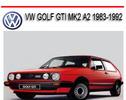 Thumbnail VOLKSWAGEN VW GOLF GTI MK2 A2 1983-1992 REPAIR MANUAL