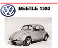 Thumbnail VW VOLKSWAGEN BEETLE 1300 WORKSHOP SERVICE REPAIR MANUAL