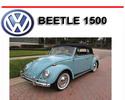 Thumbnail VW VOLKSWAGEN BEETLE 1500 REPAIR & OWNERS MANUAL