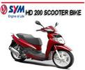 Thumbnail SYM HD200 HD 200 SCOOTER BIKE WORKSHOP REPAIR SERVICE MANUAL