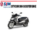 Thumbnail SYM CITYCOM 300i SCOOTER BIKE WORKSHOP REPAIR SERVICE MANUAL