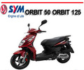 Thumbnail SYM ORBIT 50 ORBIT 125 SCOOTER BIKE WORKSHOP REPAIR MANUAL