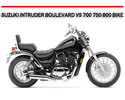 Thumbnail SUZUKI INTRUDER BOULEVARD VS 700 750 800 BIKE REPAIR MANUAL