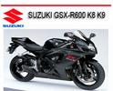 Thumbnail SUZUKI GSX-R600 K8 K9 2008-2010 BIKE REPAIR SERVICE MANUAL
