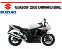 Thumbnail SUZUKI GSX650F 2008 ONWARD BIKE WORKSHOP REPAIR MANUAL