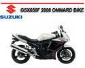 Thumbnail SUZUKI GSX650F 2008 ONWARD BIKE WORKSHOP REPAIR MANUAL