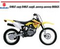 Thumbnail SUZUKI DRZ 125 DRZ 125L 2003-2009 BIKE REPAIR MANUAL