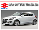 Thumbnail SUZUKI SWIFT SPORT RS416 2004-2008 SERVICE REPAIR MANUAL