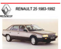 Thumbnail RENAULT 25 1983-1992 WORKSHOP REPAIR SERVICE MANUAL