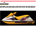 Thumbnail SEA-DOO SP SPX GS GSI GSX GTS GTI GTX XP HX BOAT MANUAL