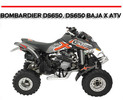 Thumbnail BOMBARDIER DS650, DS650 BAJA X ATV WORKSHOP REPAIR  MANUAL
