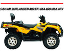 Thumbnail CAN AM CAN-AM OUTLANDER 400 EFI 4X4 400 MAX ATV MANUAL