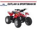 Thumbnail POLARIS OUTLAW & SPORTSMAN 90 2008 ONWARD ATV REPAIR MANUAL