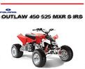 Thumbnail POLARIS OUTLAW 450 525 MXR S IRS 2008 ONWARD ATV MANUAL