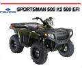 Thumbnail POLARIS SPORTSMAN 500 X2 500 EFI 2007 ONWARD ATV MANUAL