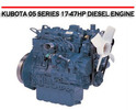 Thumbnail KUBOTA 05 SERIES 17-47HP DIESEL ENGINE REPAIR MANUAL