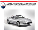 Thumbnail MASERATI SPYDER COUPE 2001-2007 REPAIR SERVICE MANUAL