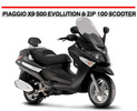 Thumbnail PIAGGIO X9 500 EVOLUTION & ZIP 100 SCOOTER REPAIR MANUAL
