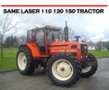 Thumbnail SAME LASER 110 130 150 TRACTOR REPAIR & OWNERS MANUAL