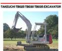 Thumbnail TAKEUCHI TB025 TB030 TB035 EXCAVATOR WORKSHOP REPAIR MANUAL