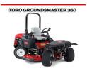 Thumbnail TORO GROUNDSMASTER 360 QUAD-STEER ROTARY MOWER REPAIR MANUAL