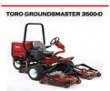 Thumbnail TORO GROUNDSMASTER 3500-D  ROTARY MOWER REPAIR MANUAL
